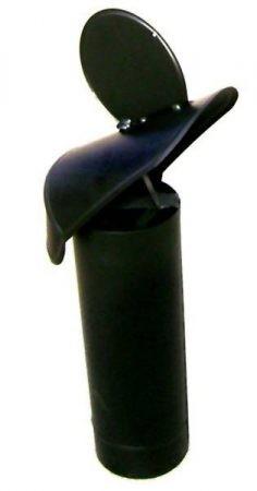 Szélkakas huzatfokozó, 130 mm