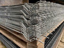 Táblás Kerítéselem 1000x2500/4mm Horganyzott