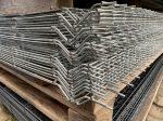 Táblás Kerítéselem 1730x2500/4mm Horganyzott