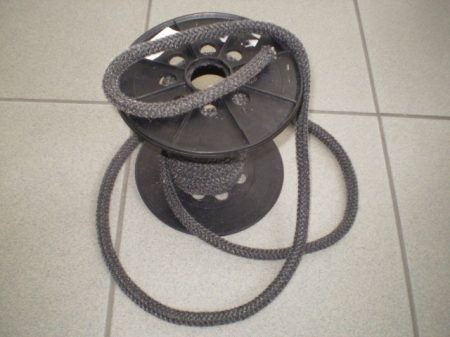 Hőálló tömítő zsinór 6 mm