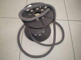 Hőálló tömítő zsinór 8 mm