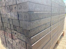 Műanyag Kerítésoszlop 6x6x180 cm