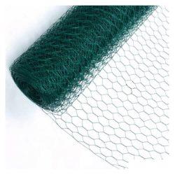 Csibeháló Zöld Bevonatos 100cm 25fm/tekercs